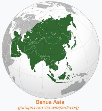 BENUA ASIA - Luas, Batas Benua asia, Keadaan Alam, Penduduk, Kebudayaan, Karakteristik Lengkap