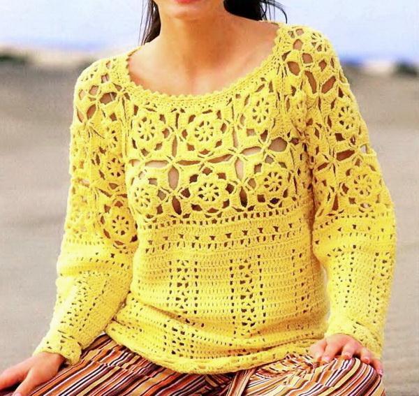 Crochet Tunic / Pullover