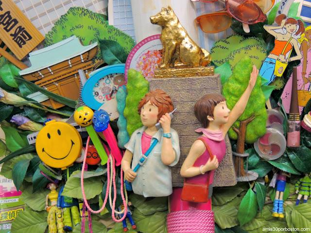 Exhibiciones de la Oficina de Turismo del Ayuntamiento de Tokio