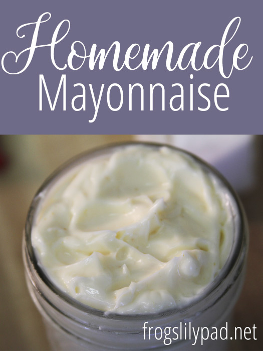 Easy Homemade Mayonnaise - It's Easier Than You Think!