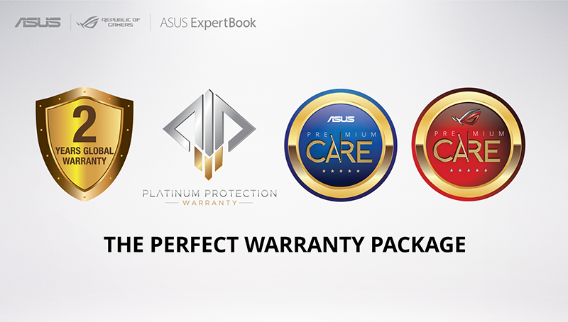 2-year global warranty and more