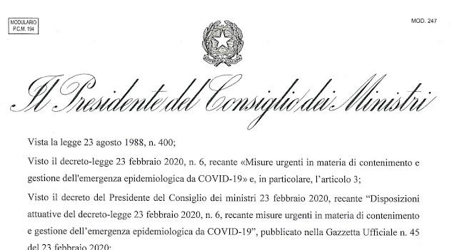 Coronavirus, il testo del nuovo Dpcm: le 100 attività che possono restare aperte