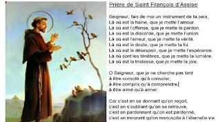 Rugăciunea Sfântului Francisc