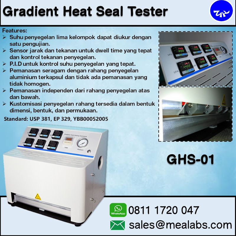 GHS-01 Gradient Five Points Heat Seal Tester