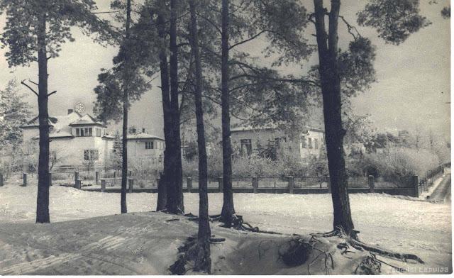 1950-е годы. Рига. Межапарк. Stoholmas un Velmes ielu stūris