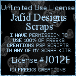 Freeks Creations Unlimited Use License