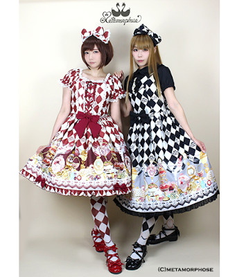 mintyfrills sweet lolita harlequin fashion cute kawaii harajuku