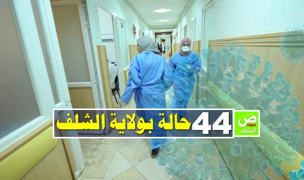 إحصاء 44 حالة مؤكد إصابتها بفيروس كورونا بالشلف