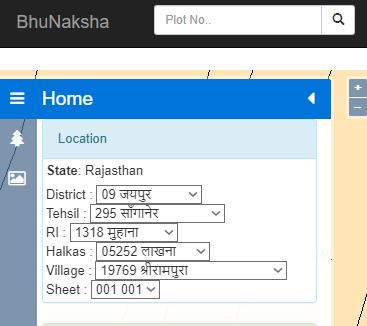 select-location-in-bhunaksha-rajasthan