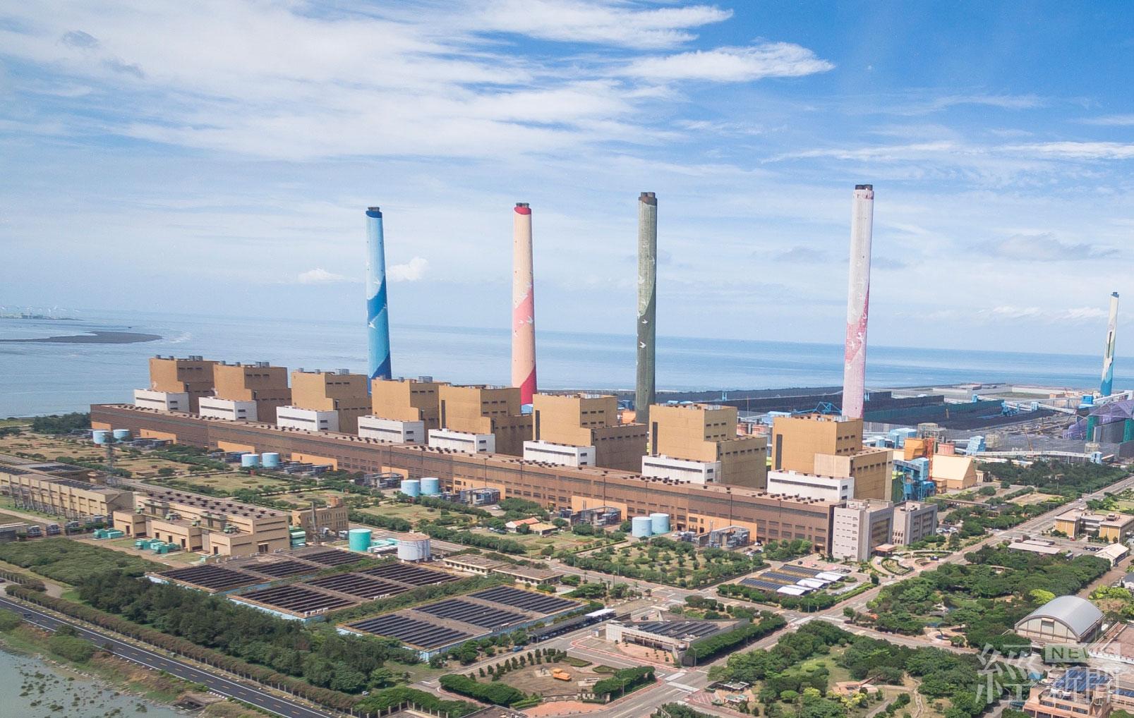 中火擴大自主減煤方案 台電:10月發電量創近十年新低