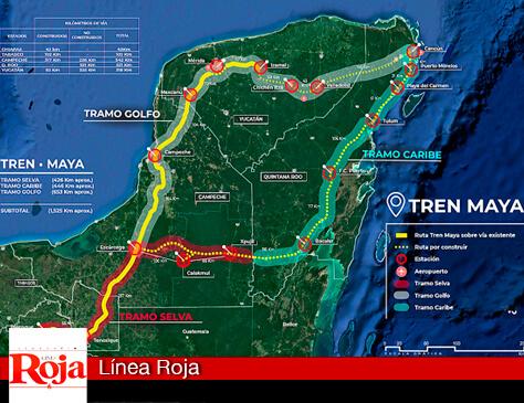 Las estaciones del Tren Maya