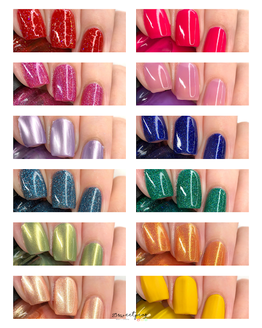 China Glaze Sesame Street You Do Hue Collection