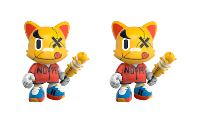 "Kickstarter Exclusive Ouch! SuperJanky 8"" Vinyl Figure by Jor Ros x SUPERPLASTIC"