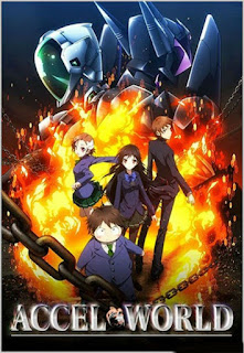 Download Accel World Subtitle Indonesia Batch Episode 1 – 24 + OVA
