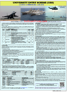 Navy UES Recruitment 2017