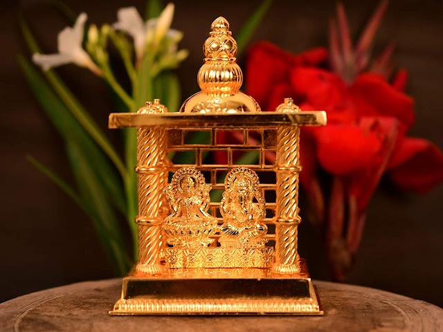 Laxmi-Ganesha-Decorative-Temple