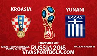 Prediksi Kroasia vs Yunani 10 November 2017