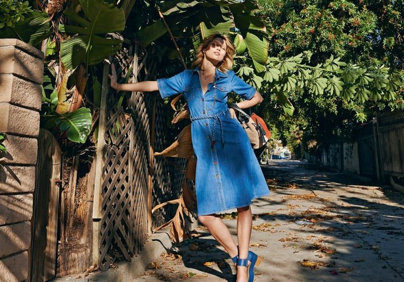 blues revival: hana jirickova by sonia sieff for telegraph magazine spring / summer 2015