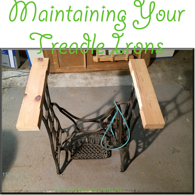 maintain treadle irons