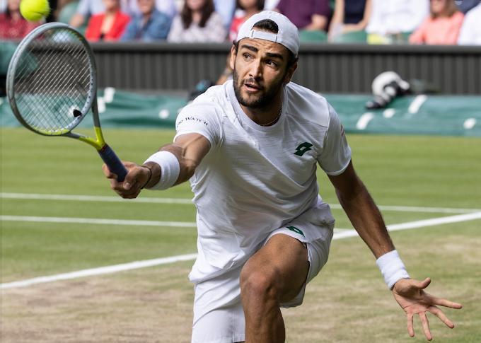 Tennis: Matteo Berrettini è il primo Italiano in finale a Wimbledon