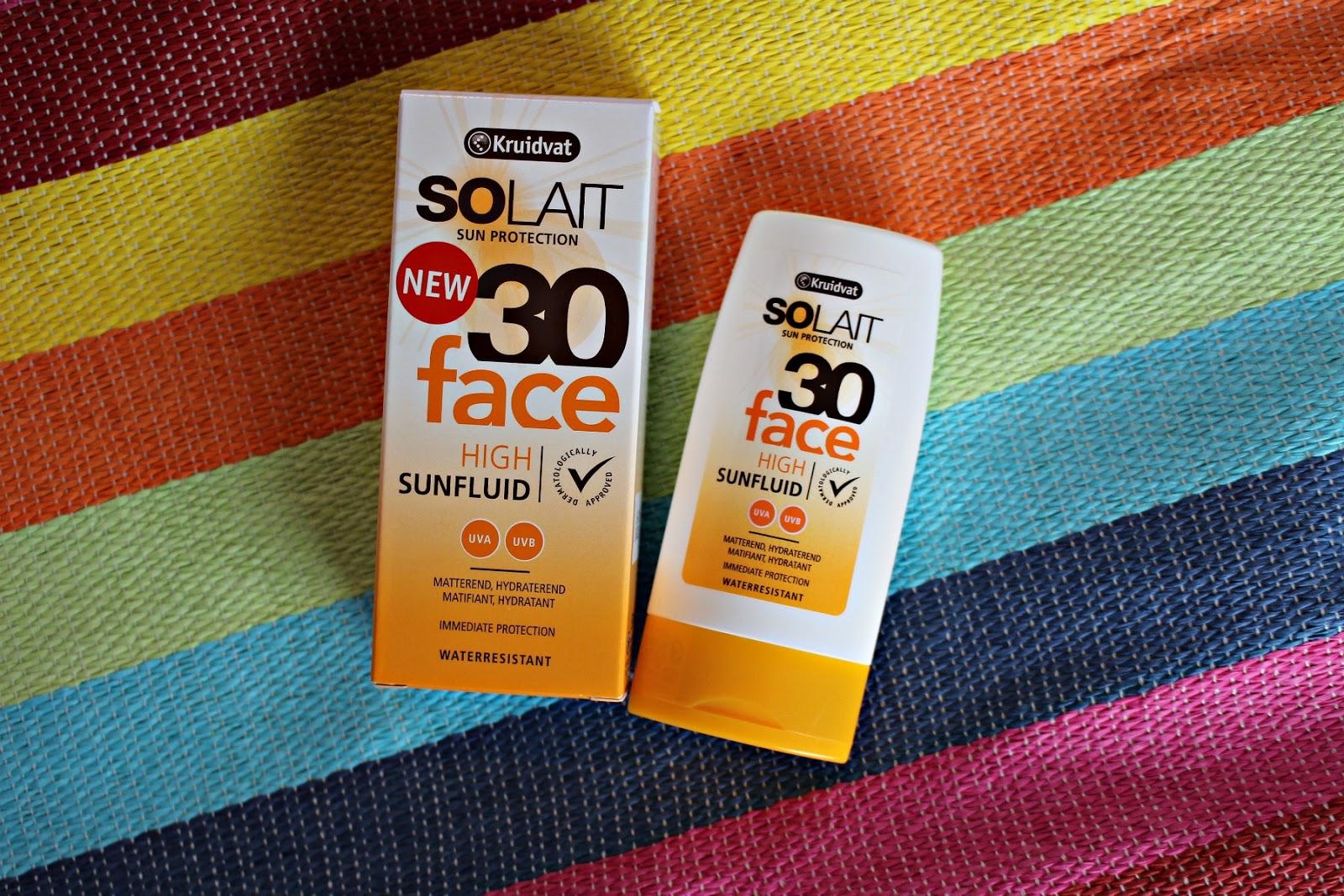 Kruidvat Solait Sunfluid Face SPF 30