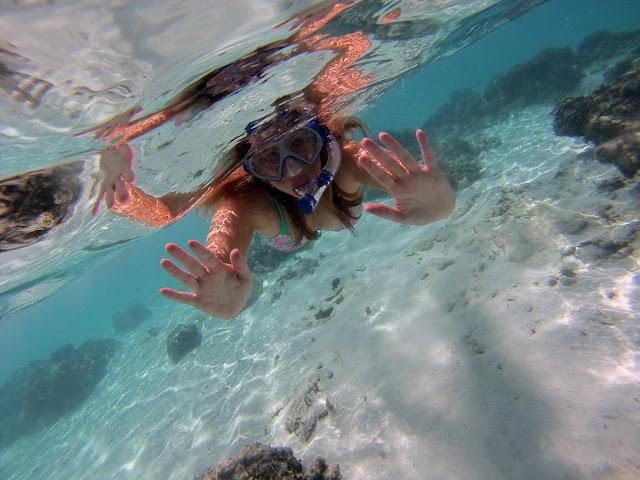 Snorkelling in Mare, Vanuatu