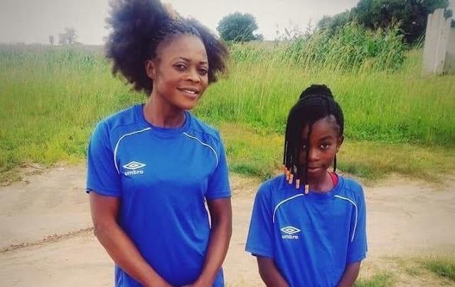 Η 8χρονη ποδοσφαιρίστρια που ακολουθεί τα βήματα της μαμάς της