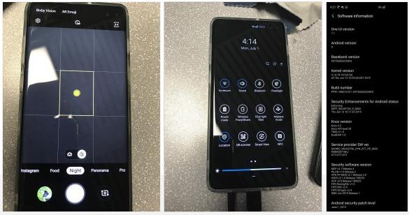 Galaxy S10+ pertama kali mendapat update Night Mode dan fitur lainnya