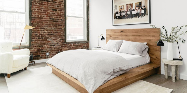 ห้องนอนเล็กสไตล์มินิมอล
