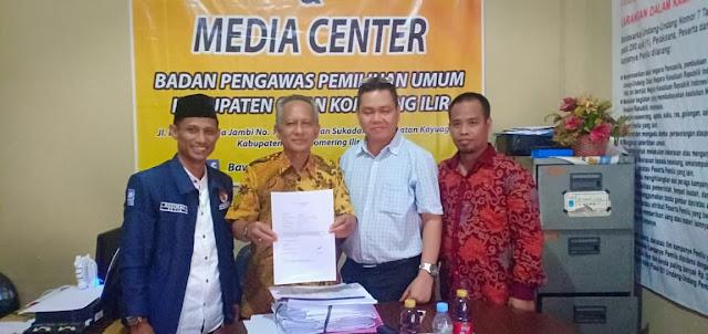 Budiman Laporkan PPK dan PPS se Kecamatan Tulung Selapan