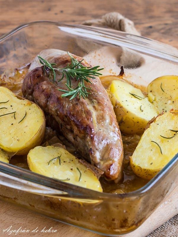Azafr n de hebra solomillo con mostaza y miel - Solomillo de ternera al horno con mostaza ...