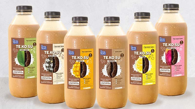 Tea Drink Yaa, Hadirkan TEKOSU dengan 6 Varian Kombinasi Teh Asli Indonesia