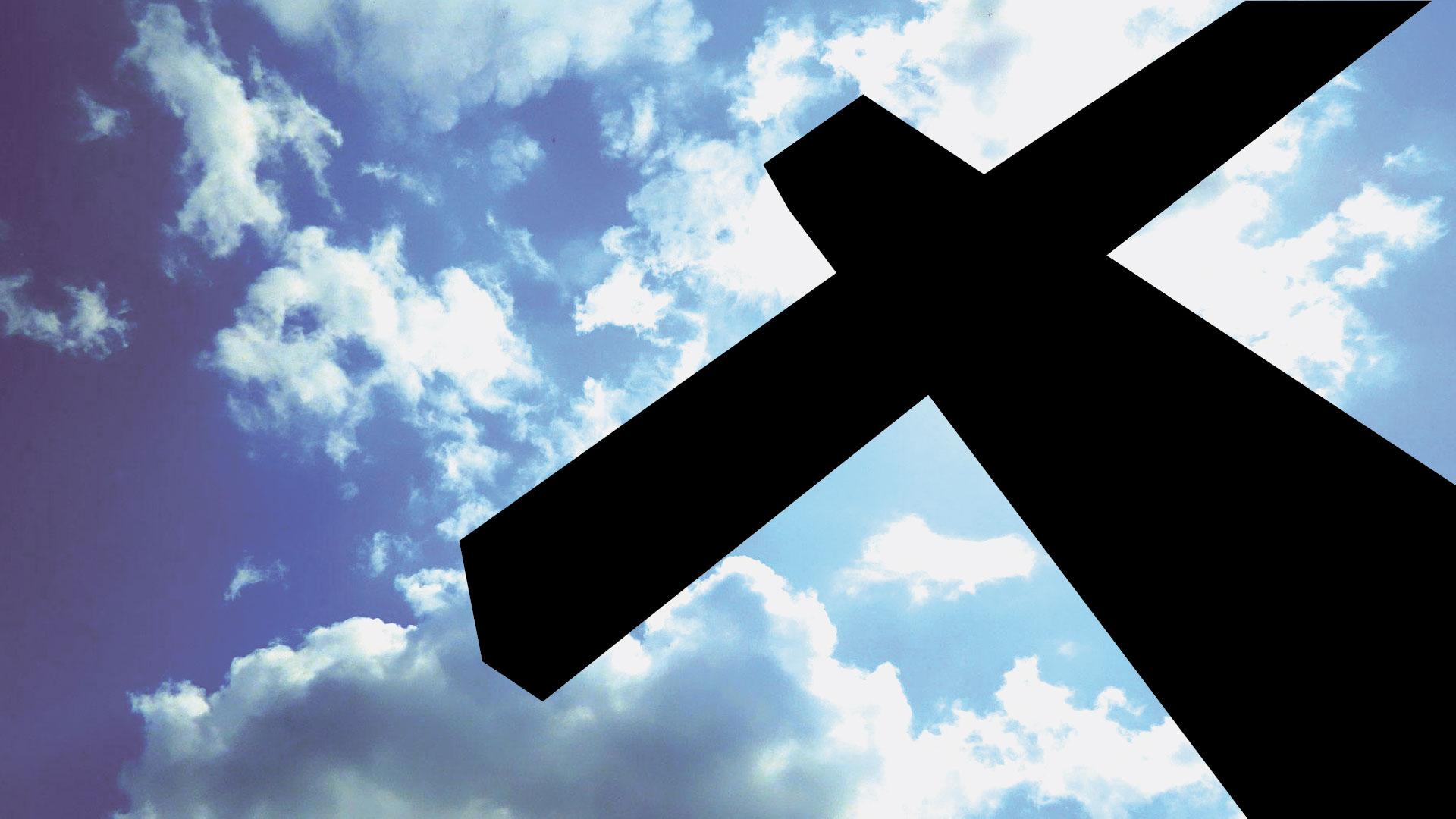 salib di awan