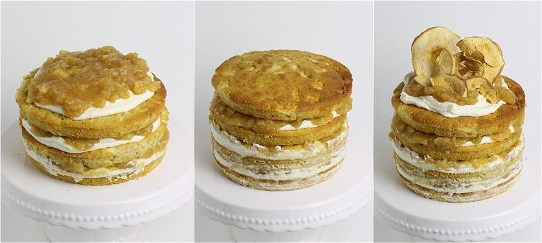 Apfel-Zimt-Torte Anleitung 3