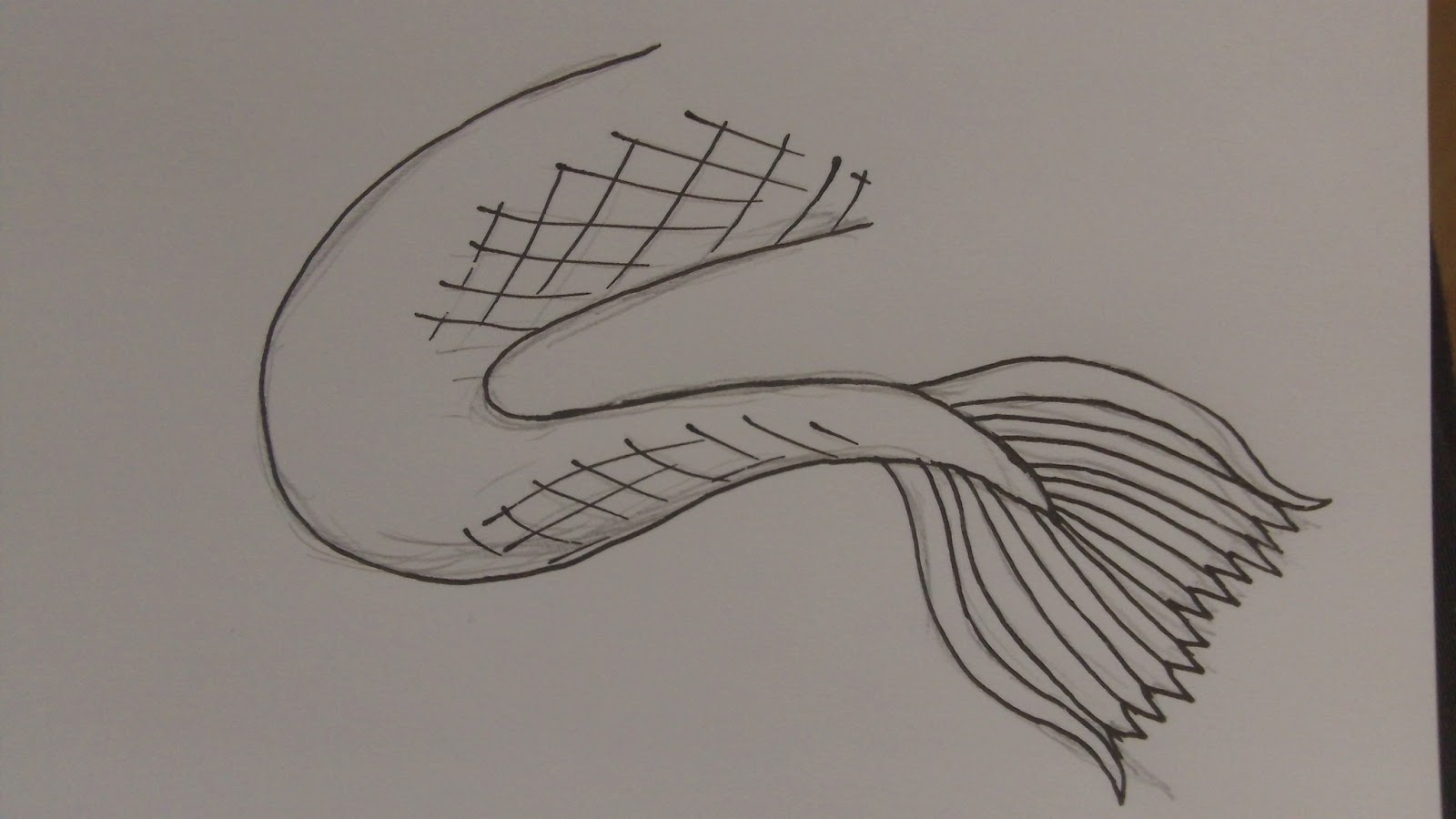 How To Draw Mermaid Tails Cliparts Co Classy World