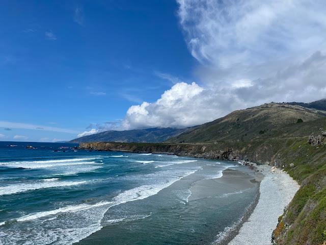 Sand Dollar Beach Big Sur California