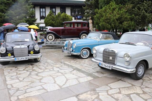 Парад на ретро автомобили  в Банско