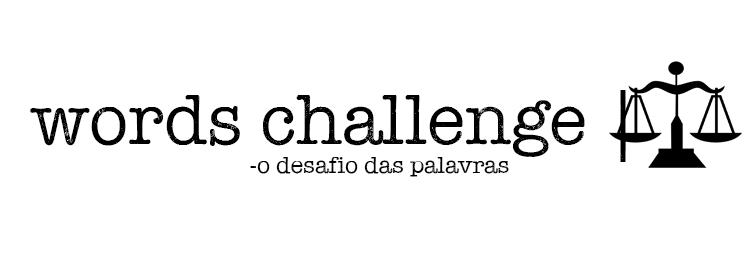 words challenge libra 2019 desafio de palavras