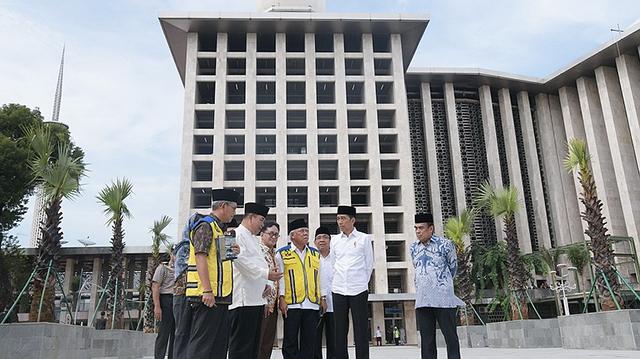 Renovasi Masjid Istiqlal Habiskan Rp 475 Miliar, Ada Terowongan Bawah Tanah Menuju Gereja Katedral
