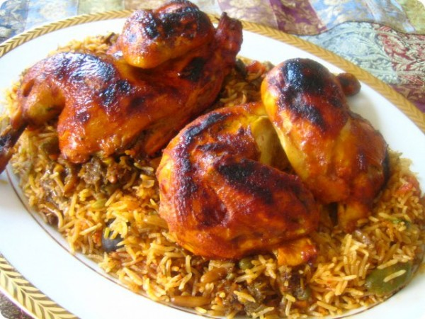 Chicken Kabsa | Saudi Style Chicken and Rice – Coffee and ...