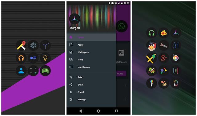 Durgon Icon Pack Screenshot