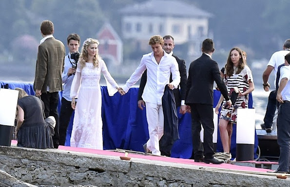 Pierre Casiraghi and Beatrice Borromeo, Charlotte Casiraghi and Princess Alexandra of Hanover