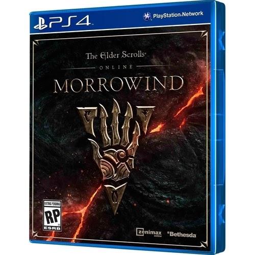Jogo The Elder Scrolls Online: Morrowind [PS4]