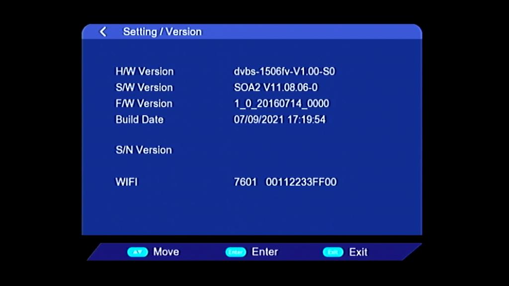 VANSTAR V8 PRO 1506FV SOA2 V11.08.06 OSN OK NEW SOFTWARE UPDATE