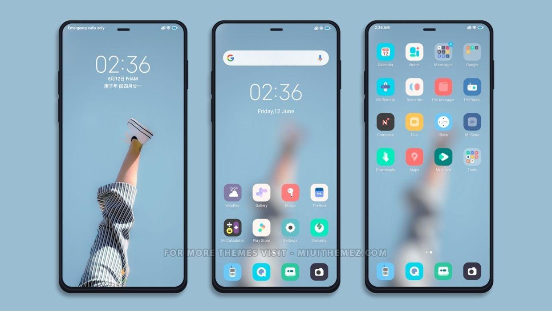 [HERUNTERLADEN] :  Verlorenes V11 MIUI Theme |  Ein superleichtes Thema für Xiaomi Redmi-Geräte