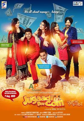 Jugaadi Dot Com 2015 Punjabi HD WebRip 300mb, BrRip 700mb 720P 480P of punjaabi movie Original Direct Download From World4ufree.cc
