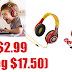 Mickey Mouse Kids' Headphones Only $2.99 (Reg $17.50) + Free Shipping