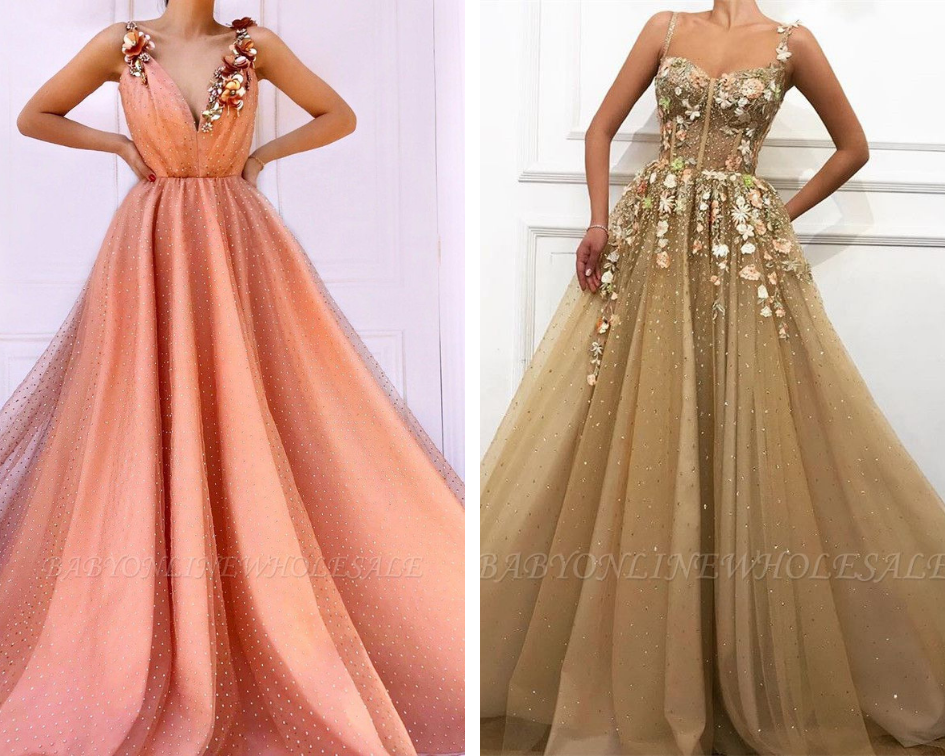 vestidos de formatura glamourosos