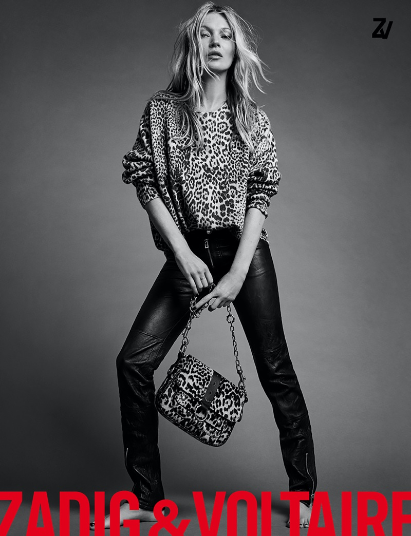 Kate Moss appears in Zadig & Voltaire spring-summer 2020 campaign