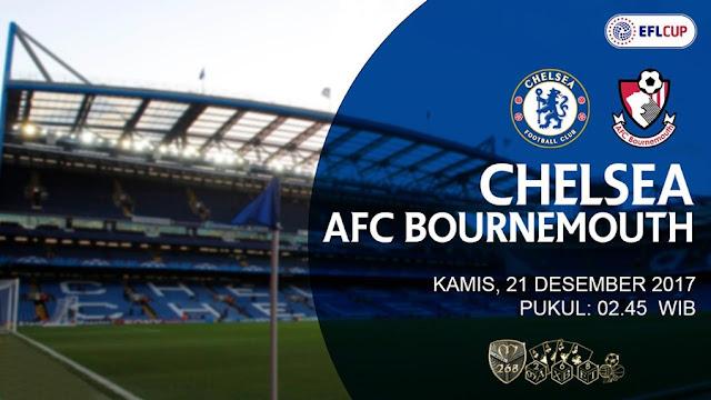 Prediksi Bola : Chelsea Vs AFC Bournemouth , Kamis 21 Desember 2017 Pukul 02.45 WIB